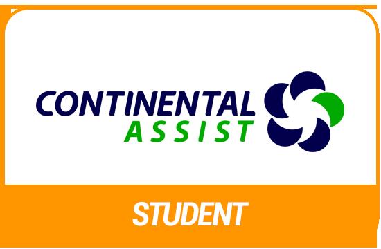 Tarjeta de asistencia médica Continental student